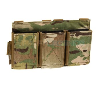 Warrior Assault Triple Elastic Mag Pouch