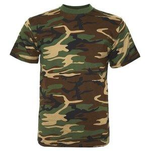 Fosco Fosco Woodland Camo T-Shirt