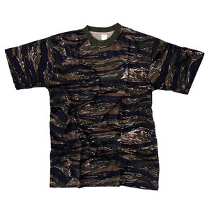 Fosco Fosco Tiger Stripe Camo T-Shirt