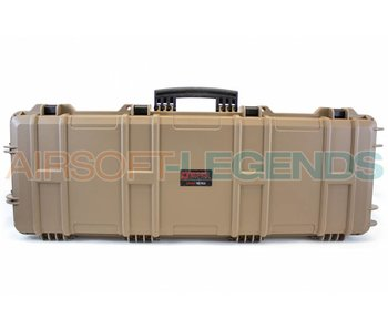 Nuprol Large Hard Case Tan with Pluck Foam