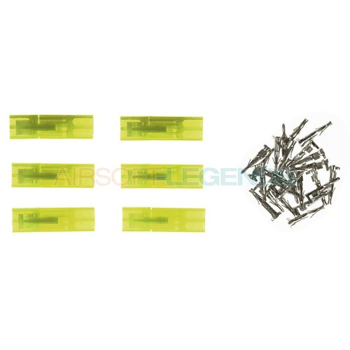 King Arms King Arms Mini Type Connector Plugs 6pcs