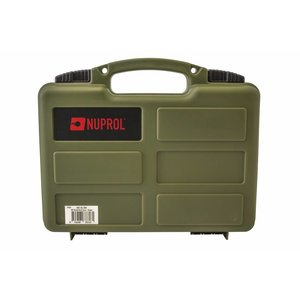 NUPROL Nuprol Small Pistol Hard Case OD Green