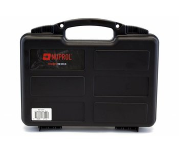 Nuprol Small Pistol Hard Case Black Pluck Foam