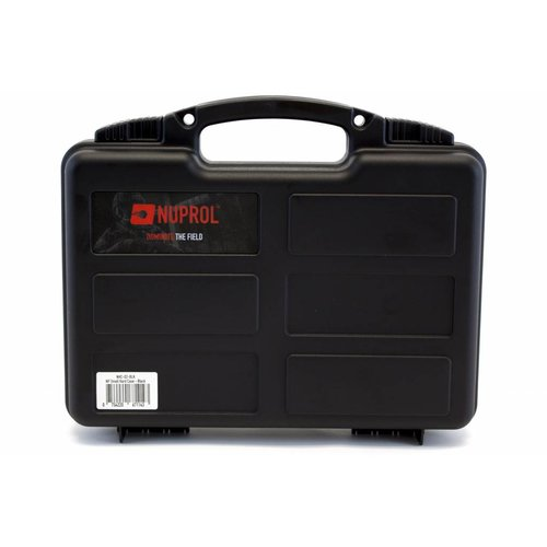 NUPROL Nuprol Small Pistol Hard Case Black Pluck Foam