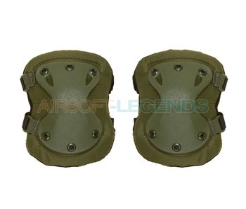 Invader Gear XPD Elbow Pads OD Green