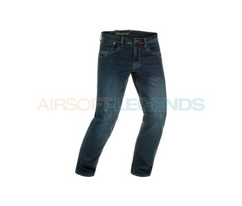 Clawgear Blue Denim Tactical Jeans Washed Midnight