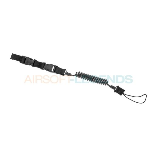 Warrior Assault Systems Warrior Pistol Lanyard Black