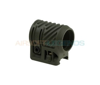 CAA Tactical Picatinny Flashlight Adaptor OD