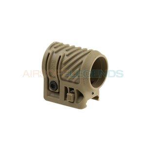 CAA Tactical CAA Tactical Picatinny Flashlight Adaptor Khaki