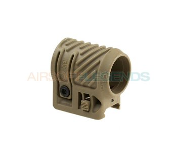 CAA Tactical Picatinny Flashlight Adaptor Khaki