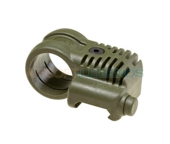CAA Tactical Picatinny QR Offset Flashlight Adaptor OD