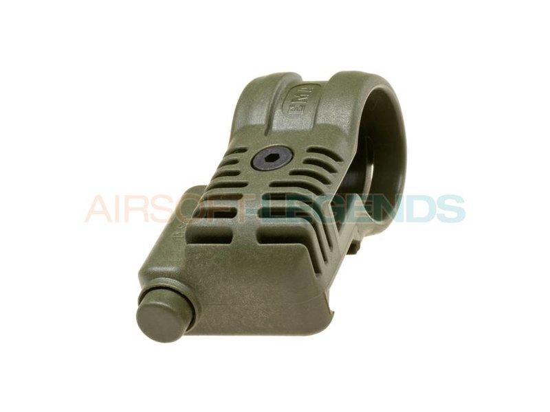 CAA Tactical Picatinny QR Offset Flashlight Adaptor OD