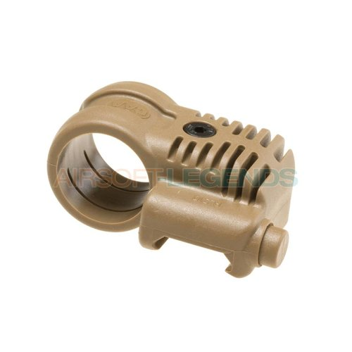 CAA Tactical CAA Tactical Picatinny QR Offset Flashlight Adaptor Khaki