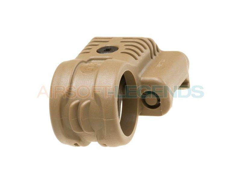 CAA Tactical Picatinny QR Offset Flashlight Adaptor Khaki