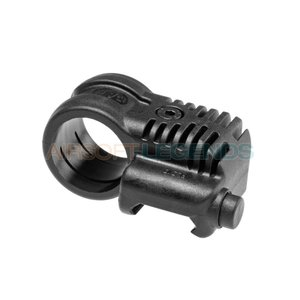 CAA Tactical CAA Tactical Picatinny QR Offset Flashlight Adaptor Black