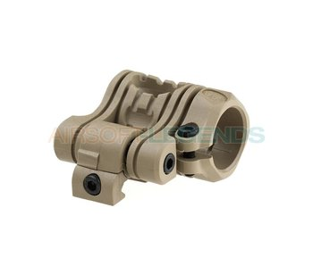 CAA Tacttical QR 5 Pos Flashlight Mount Khaki