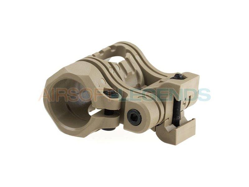 CAA Tactical QR 5 Pos Flashlight Mount Khaki