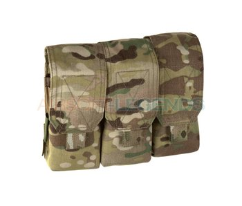 Warrior Assault Triple Covered Mag Pouch M4 5.56mm