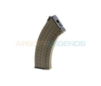 King Arms Midcap Magazine AK47 Waffle (140BB's) Desert