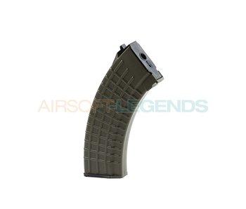 King Arms Midcap Magazine AK47 Waffle (140BB's) OD