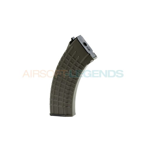 King Arms King Arms Midcap Magazijn AK47 Waffle (140BB's) OD