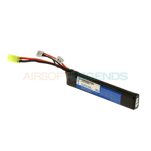 Pirate Arms Pirate Arms 7.4V LiPo 1100mAh 15C Stock Tube Type
