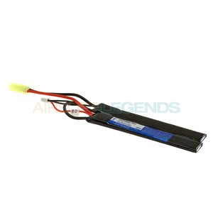 Pirate Arms Pirate Arms 7.4V LiPo 1300mAh 15C Stock Twin Type
