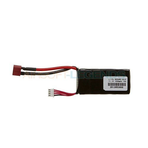 Pirate Arms Pirate Arms 11.1v LiPo 1500mAh 15C Mini Type T-Plug
