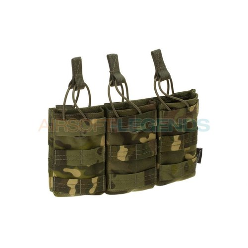 Invader Gear Invader Gear 5.56 Triple Direct Action Mag Pouch Multicam Tropic