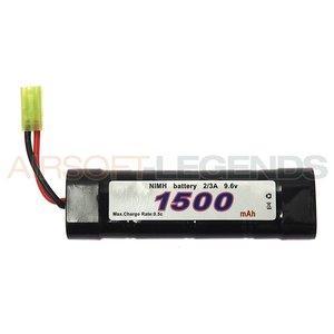 101Inc. 101Inc. 9.6V NiMH batterij - 1500 MaH