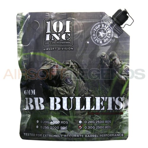 101Inc. 101Inc. 0,30gr BB's 2500 rds