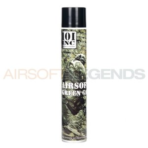 101Inc. 101Inc. Airsoft Green Gas 750ml