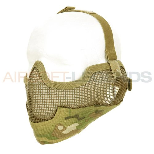 101Inc. 101Inc. Airsoft Mesh  Mask + Ears
