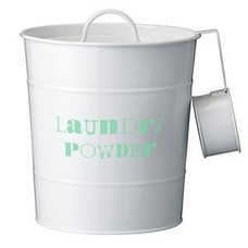 Bucket for washing powder