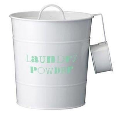 Bucket for washing powder