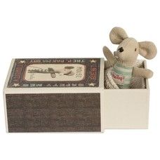 Maileg Baby Boy oder Girl Mouse in Box
