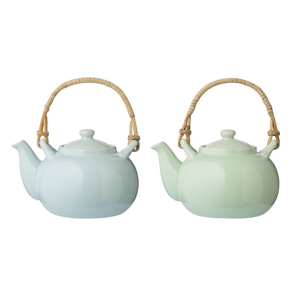 olivia teapots blue mint teekanne von bloomingville das kleine dachstuebchen das kleine. Black Bedroom Furniture Sets. Home Design Ideas