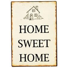 IB Laursen Metallschild Home Sweet Home
