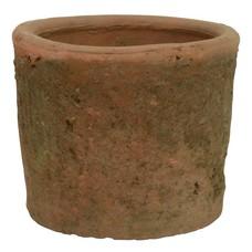 IB Laursen Topf, Zylinderförmig, antik rot