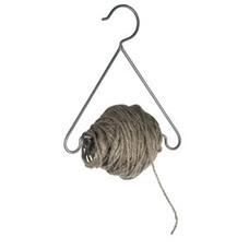 Madam Stoltz Hanger w/jute cord