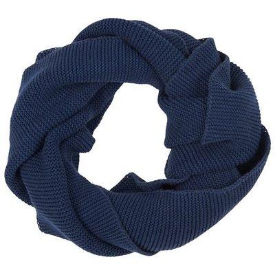 IB Laursen Tuch dunkelblau gestrickt