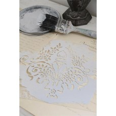 Jeanne d'Arc Living Stencil Flower