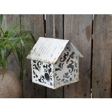 Chic Antique Vogelhaus mit Muster
