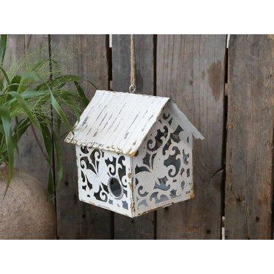 Chic Antique Vogelhaus mit Muster