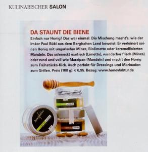 Unser Artikel im Magazin Feinschmecker