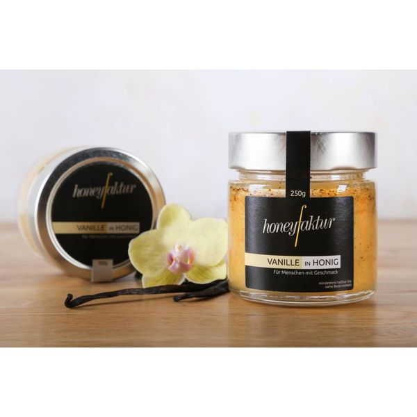 honeyfaktur Vanille in Honig - Honigspezialitäten von honeyfaktur