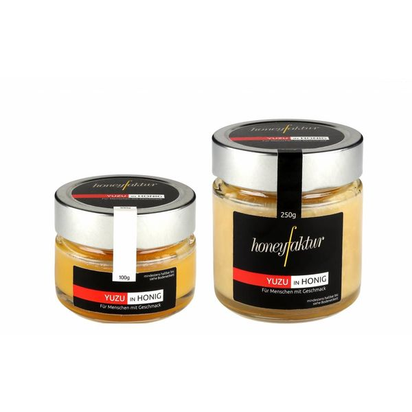 Geschenkidee: Yuzu in Honig - Honigspezialitäten von honeyfaktur