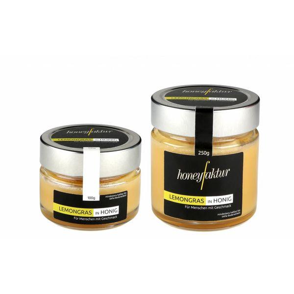 Lemongras in Honig - Honigspezialitäten von honeyfaktur
