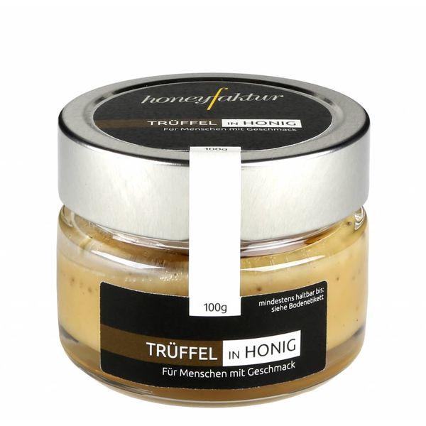 Burgunder Trüffel in Blütenhonig - Honigspezialitäten von honeyfaktur