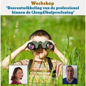 Doorontwikkeling van de professional binnen de (Jeugd)hulpverlening. Deze workshop is SKJ geaccrediteerd, deelname levert 7 punten op.